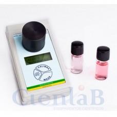 Clorímetro Mini - Medidor de Cloro Método DPD Digital Microprocessado