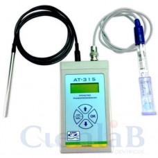 pHmetro Portátil Digital Microprocessado Completo - Medidor de pH