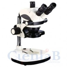 Estereomicroscópio Trinocular Com Zoom - Lupa Trinocular - 7 a 45x