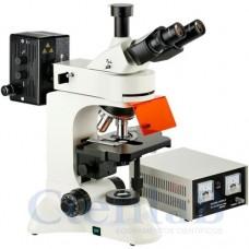 Microscópio Biológico Trinocular Com Fluorescência