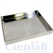 Bandeja de Aço Inox - 300x200x50mm