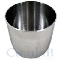 Cadinho de Aço Inox -  30mL