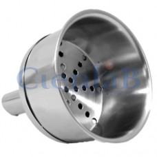 Funil de Buchner Aço Inox 316L - 11,0cm