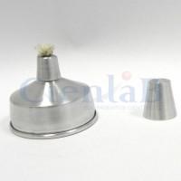 Lamparina de Alumínio a Álcool 150mL