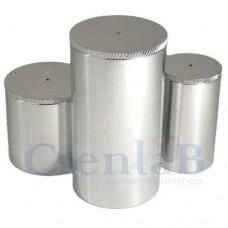 Picnômetro com tampa - Aço Inox -  25mL