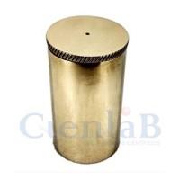 Picnômetro com tampa - Bronze Polido -  25mL