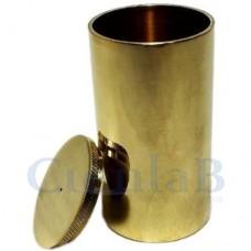 Picnômetro com tampa - Latão Polido -  25mL