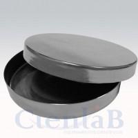 Placa de Petri de Aço Inox -  60 x 20mm