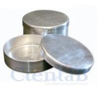 Placa de Petri de Alumínio -  60 x 20mm
