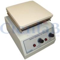 Agitador Magnético  com Aquecimento, Plataforma Pirocerâmica, 15 litros
