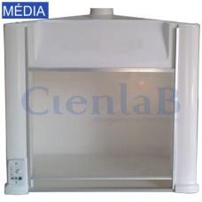 Capela Exaustão de Gases Porta de Acrílico - Média