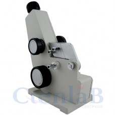 Refratômetro de Bancada Analógico - Tipo ABBE - Termômetro Digital