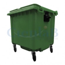 Coletor de Lixo - Container de Lixo - 1.000 litros