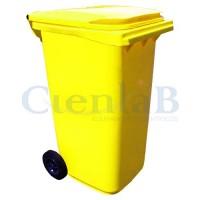 Coletor de Lixo - Container de Lixo -  240 litros