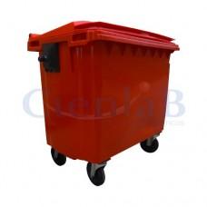 Coletor de Lixo - Container de Lixo -  660 litros