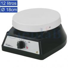 Agitador Magnético sem Aquecimento, 12 litros