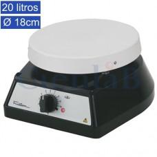 Agitador Magnético sem Aquecimento, 20 litros