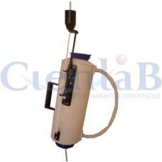 Garrafa de Van Dorn de PVC 2 litros - Vertical