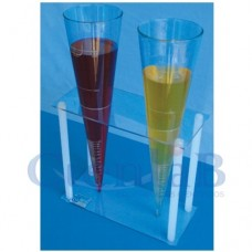 Suporte Cone Inhoff Acrílico - 2 Cones