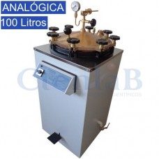 Autoclave Vertical Analógica 100 Litros