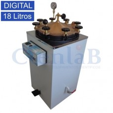 Autoclave Vertical Digital  18 Litros