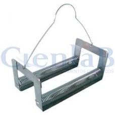Berço Para Corar Lâmina tipo Mola em Aço Inox - 48 lâminas