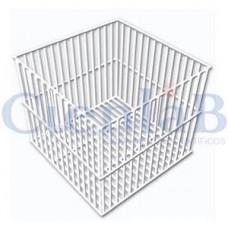 Cesto Quadrado ou Retangular em Arame com PVC 15x15x15cm