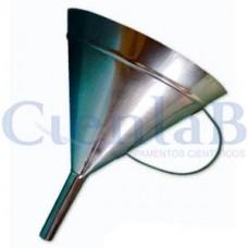 Funil Aço Inox 304    250mL - Com ou Sem Alça