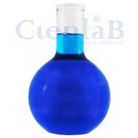 Balão com fundo chato - Sem junta - Borossilicato, capacidade    50 mL